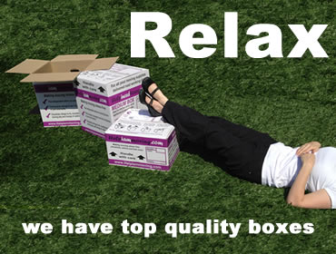Moving Boxes delivered Scottish Borders